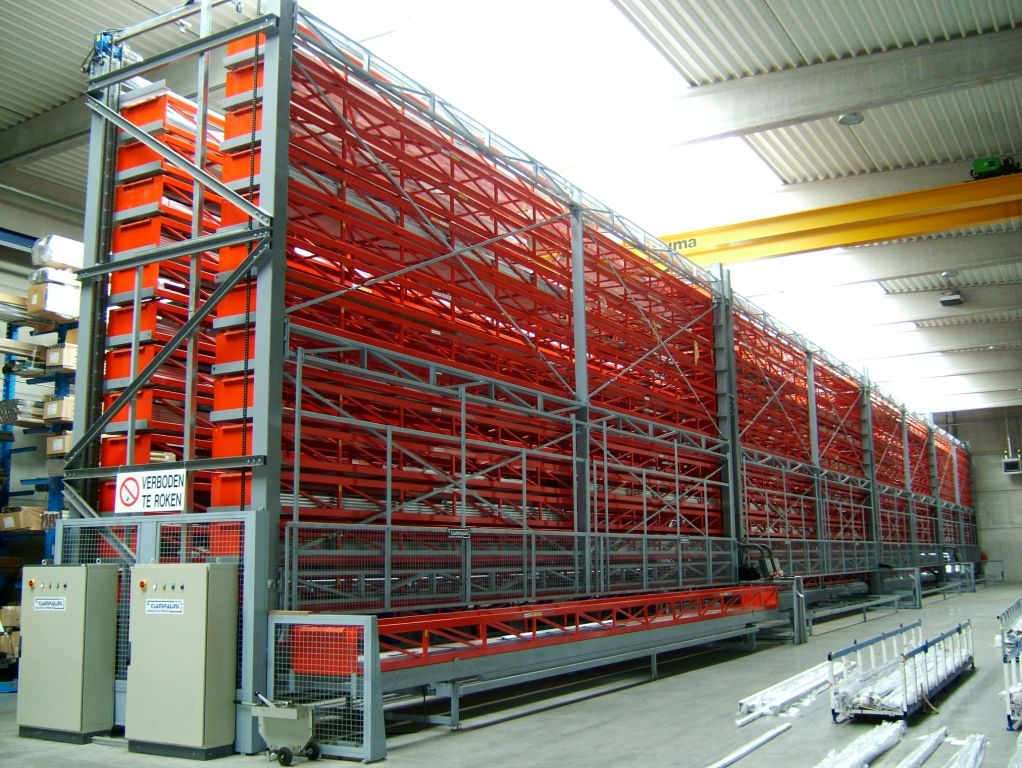 Stockage rotatif fortes charges