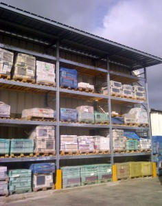 Stockage carrelages